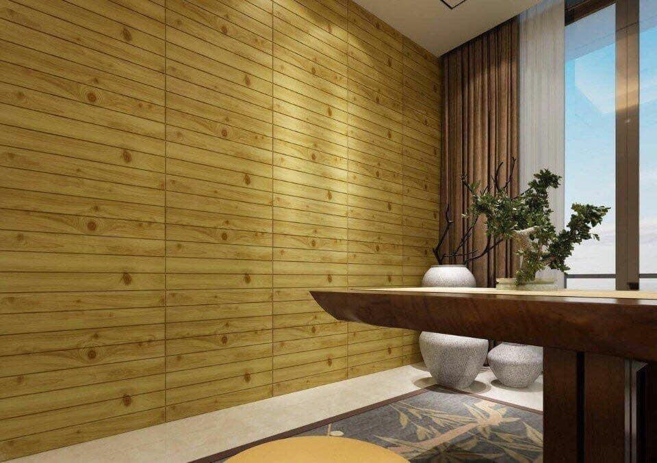 Xốp gỗ 3D
