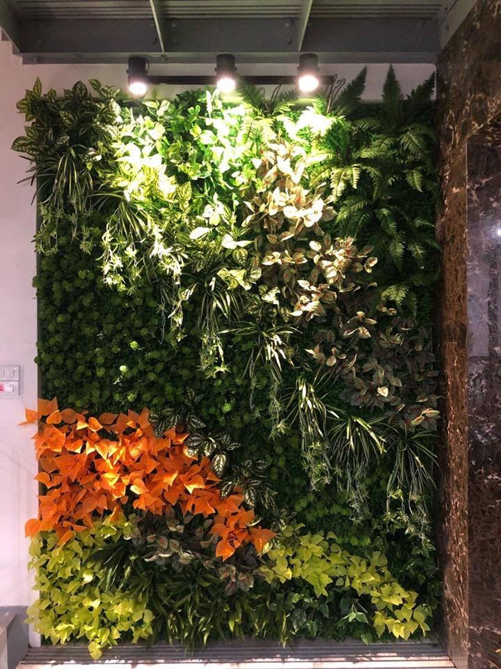 Combo tường cỏ 2 tầng Full