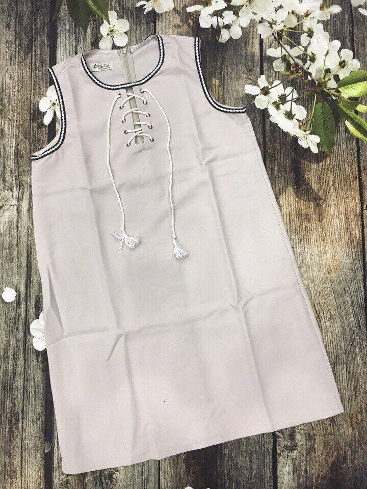 Đầm suông dây chéo ngực cực xinh xắn