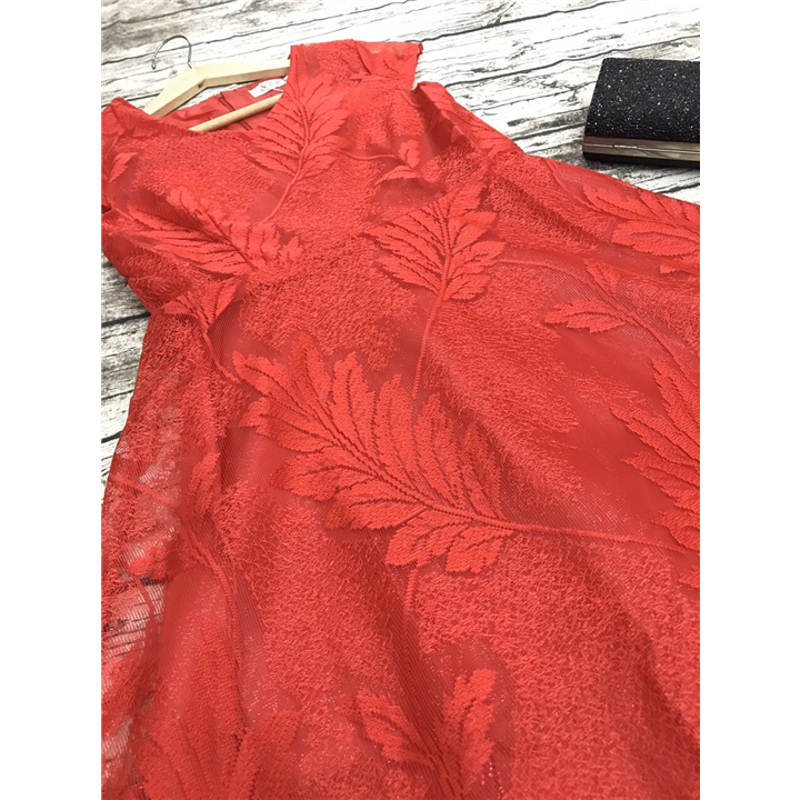 Đầm xòe ren hoa cao cấp