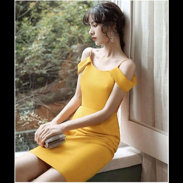 Đầm ôm trễ vai siêu xinh