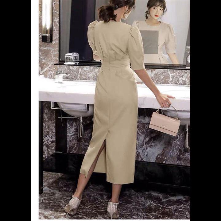 Đầm ôm xếp li siêu đẹp