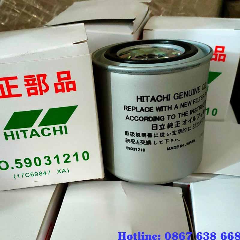 Lọc dầu máy nén khí Hitachi
