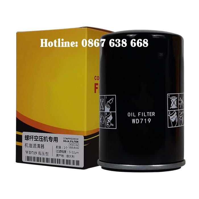 Lọc dầu máy nén khí Hande
