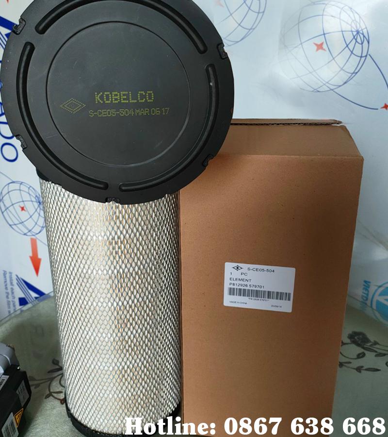 Lọc gió máy nén khí Kobelco