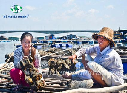Biển long hải - minh đạm  chùa khỉ - làng bè long sơn - nghĩ dưỡng 5 sao