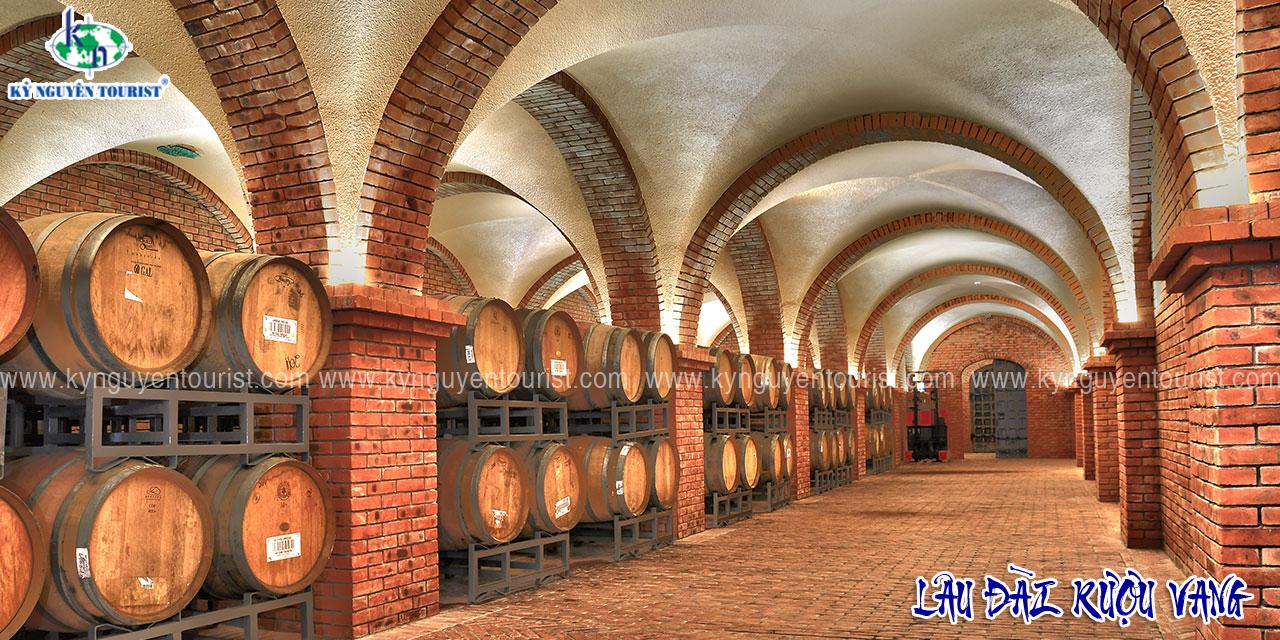 Phan thiết - núi chứa chan - lâu đài rượu vang
