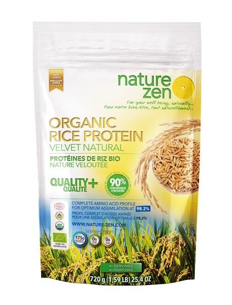 Bột Protein Nature Zen Mầm Gạo lứt, Hương Tự Nhiên 720 gm
