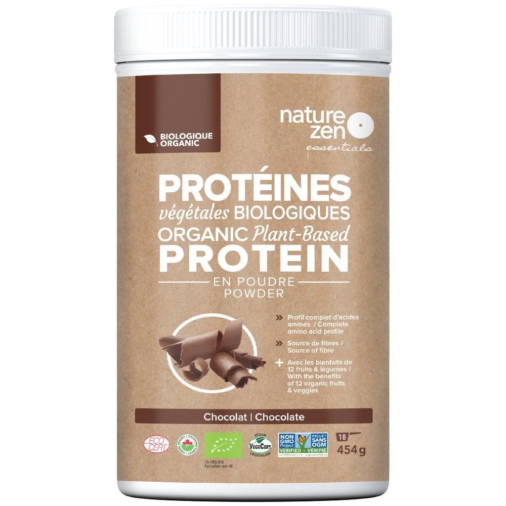 Bột Protein Ngũ Cốc Hữu Cơ Cô Đặc Nature Zen 454g