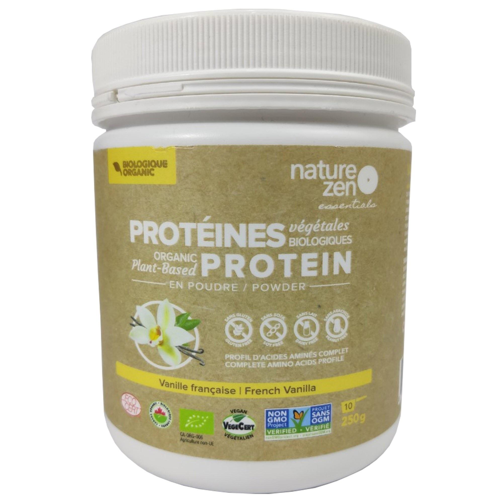 Bột Protein Ngũ cốc Hữu Cơ Cô Đặc Nature Zen - vị Vani 250gm