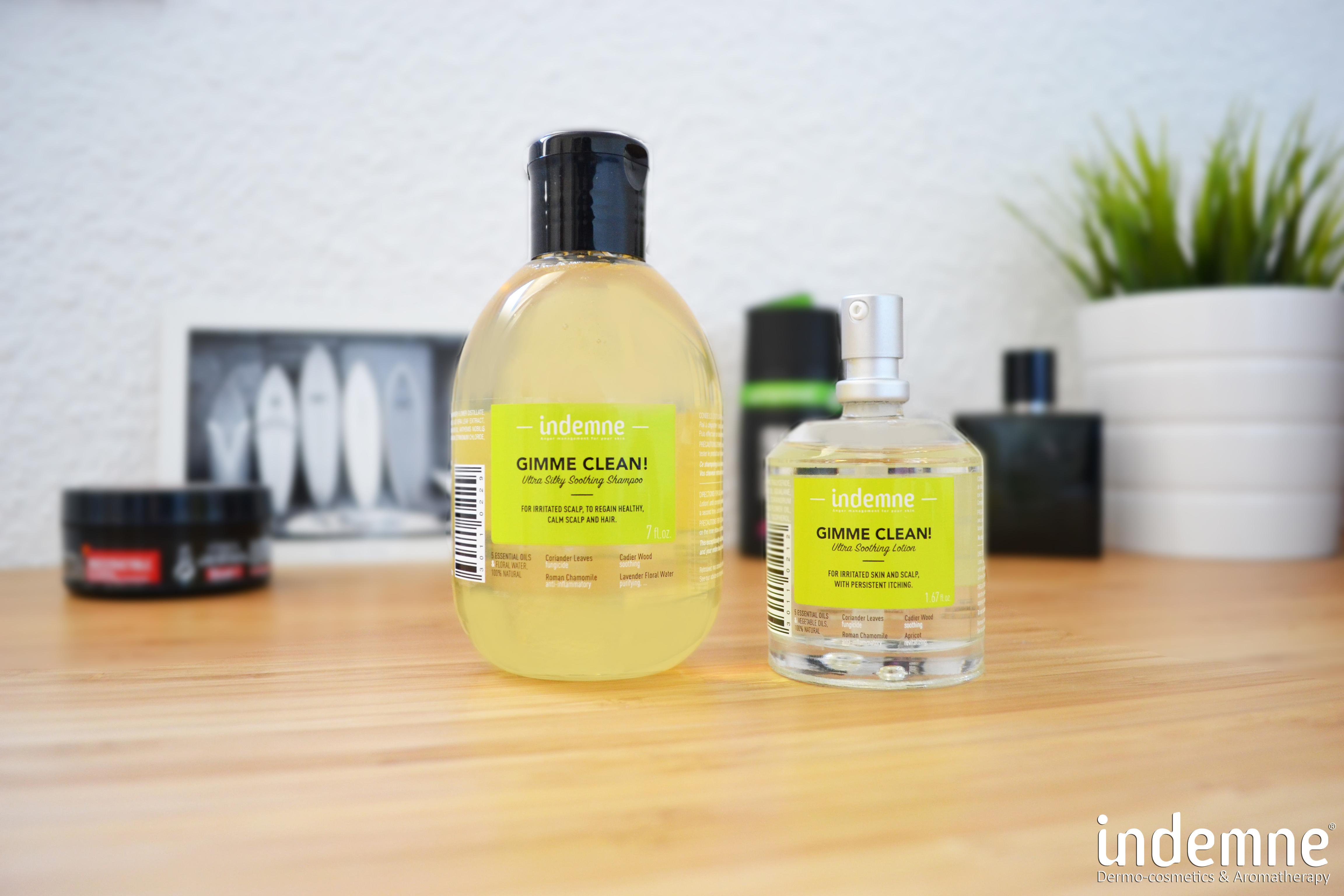 Dầu gội và nuôi dưỡng da đầu INDEMNE - GIMME CLEAN SHAMPOO