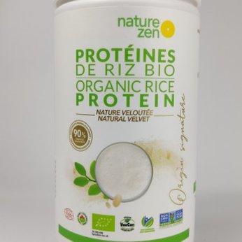 Bột Protein Nature Zen Gạo Mầm Hữu Cơ - Vị tự nhiên