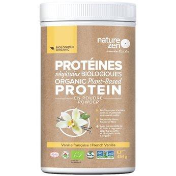 Bột Protein Ngũ cốc Hữu Cơ Cô Đặc Nature Zen - vị Vani 454gm