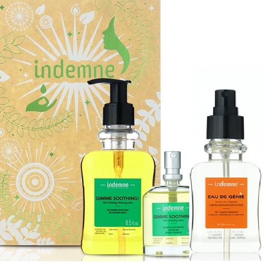Bộ sản phẩm chăm sóc da dưỡng da, dưỡng ẩm và phục hồi da INDEMNE