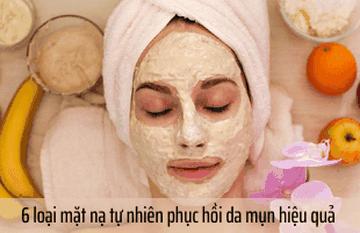 Lấy lại sắc xuân cho làn da nhờ các loại mặt nạ phục hồi da mụn này