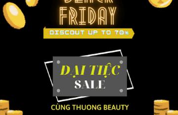 Đại tiệc Sale lớn nhất trong năm - Black Friday 2020 - Giảm giá dịch vụ lên đến 70% tại Thuong Beauty