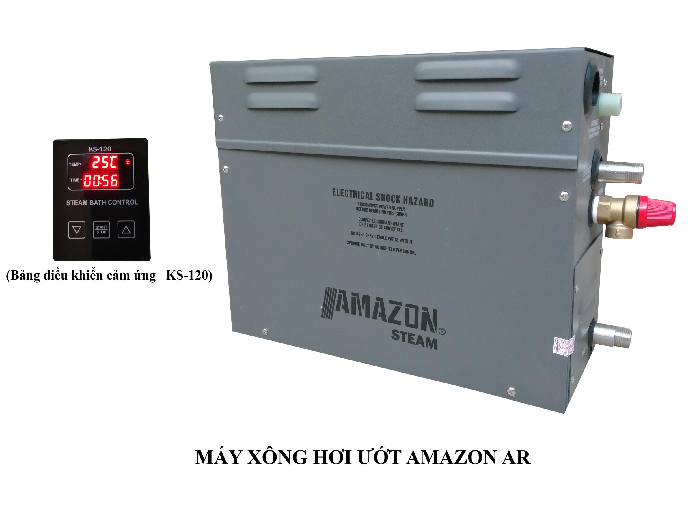 MÁY XÔNG HƠI ƯỚT THƯƠNG HIỆU AMAZON TPA-60S