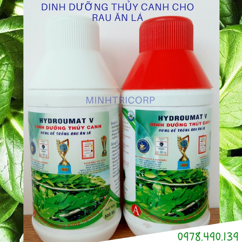 DINH DƯỠNG THỦY CANH HDRO UMAT V