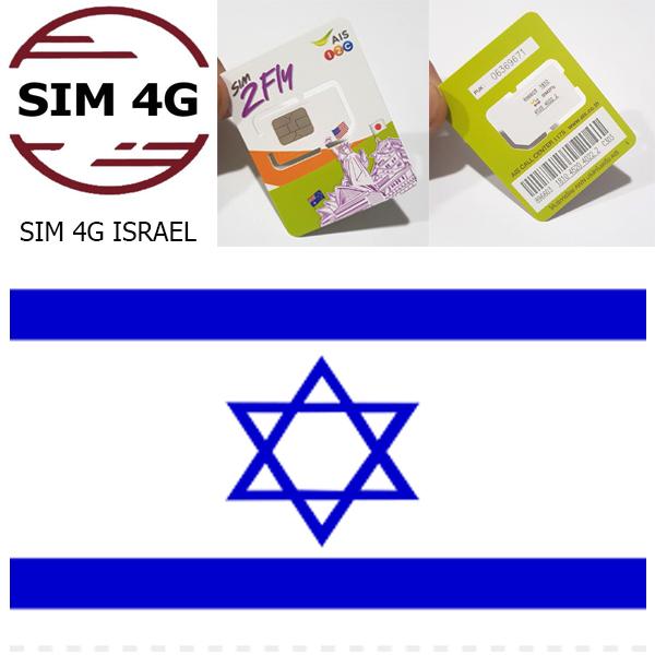 SIM 4G ISRAEL 8 NGÀY