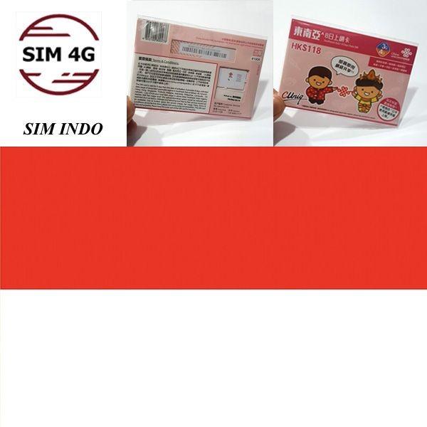 SIM 4G INDONESIA 8 Ngày,