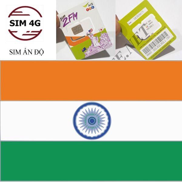 SIM 4G  ẤN ĐỘ 8 Ngày,