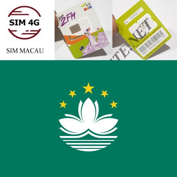 SIM MACAU- Online không giới hạn, tha hồ lướt web