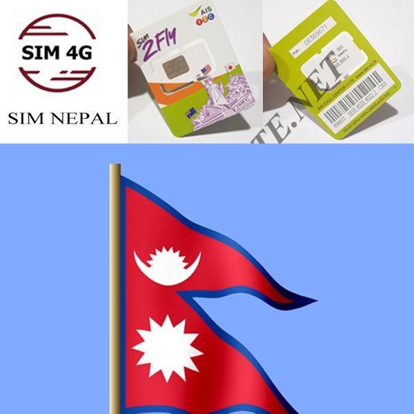 SIM NEPAL- Online không giới hạn, tha hồ lướt web