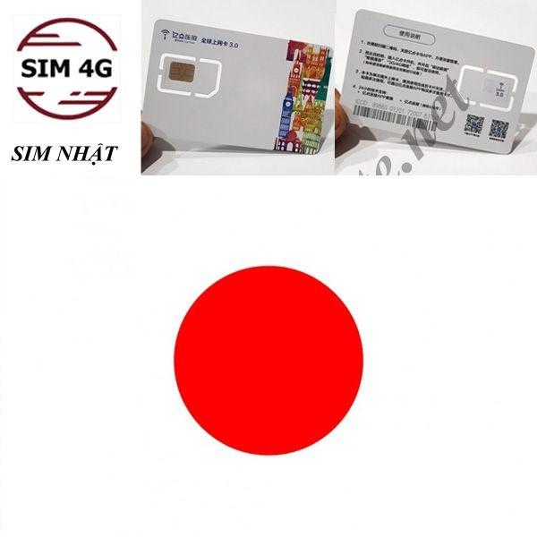 SIM NHẬT BẢN 4G 5 NGÀY- online không giới hạn, lướt web thả ga