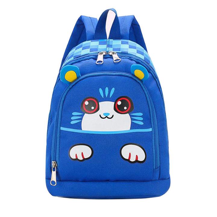Balo cho trẻ in hình mèo con nghịch ngợm đáng yêu thời trang Shalla (Balo cho trẻ in hình mèo con nghịch ngợm chuyên sỉ)