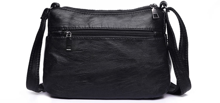 Túi đeo vai da cổ điển kiểu trơn thời trang hàn quốc MF5 Shalla (Túi đeo vai da cổ điển giá sỉ rẻ)
