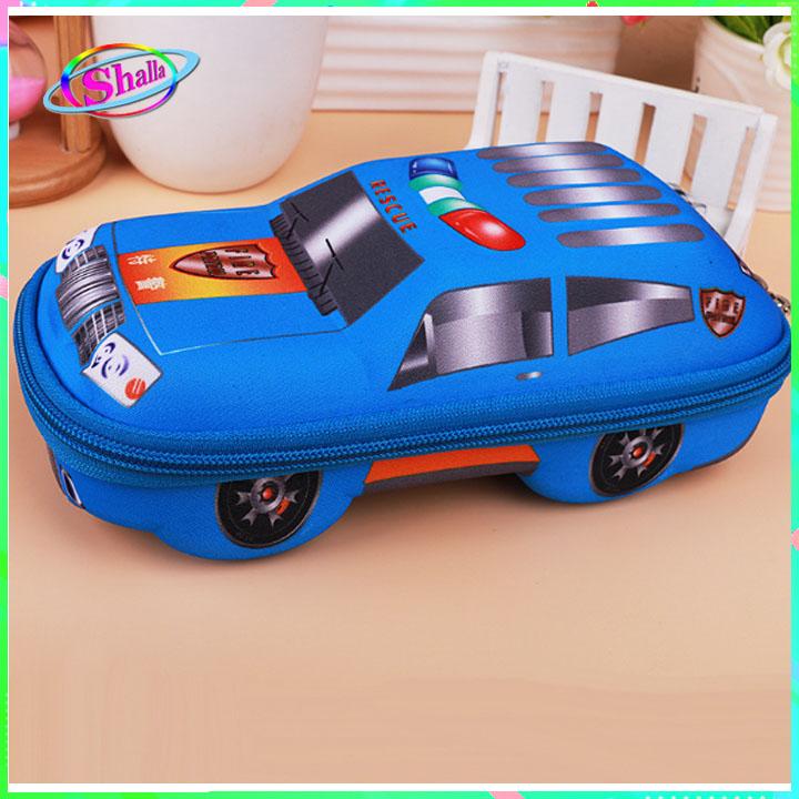 Hộp đựng bút cho học sinh 3D hình xe hơi thời trang phong cách Shalla (Hộp đựng bút 3D hình xe hơi chuyên sỉ)