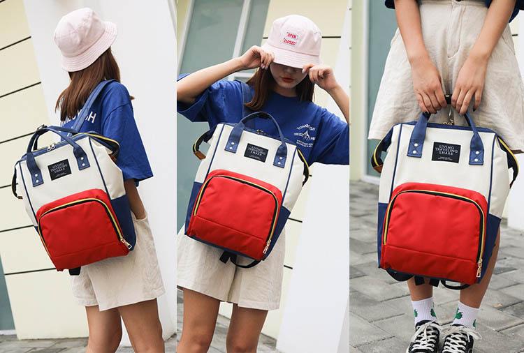 Balo nữ thời trang hàn quốc thế hệ màu phối JT01 Shalla