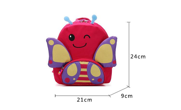 Balo cho bé gái hình bướm cánh lớn cao cấp thời trang Shalla (Balo cho bé gái hình bướm giá sỉ)