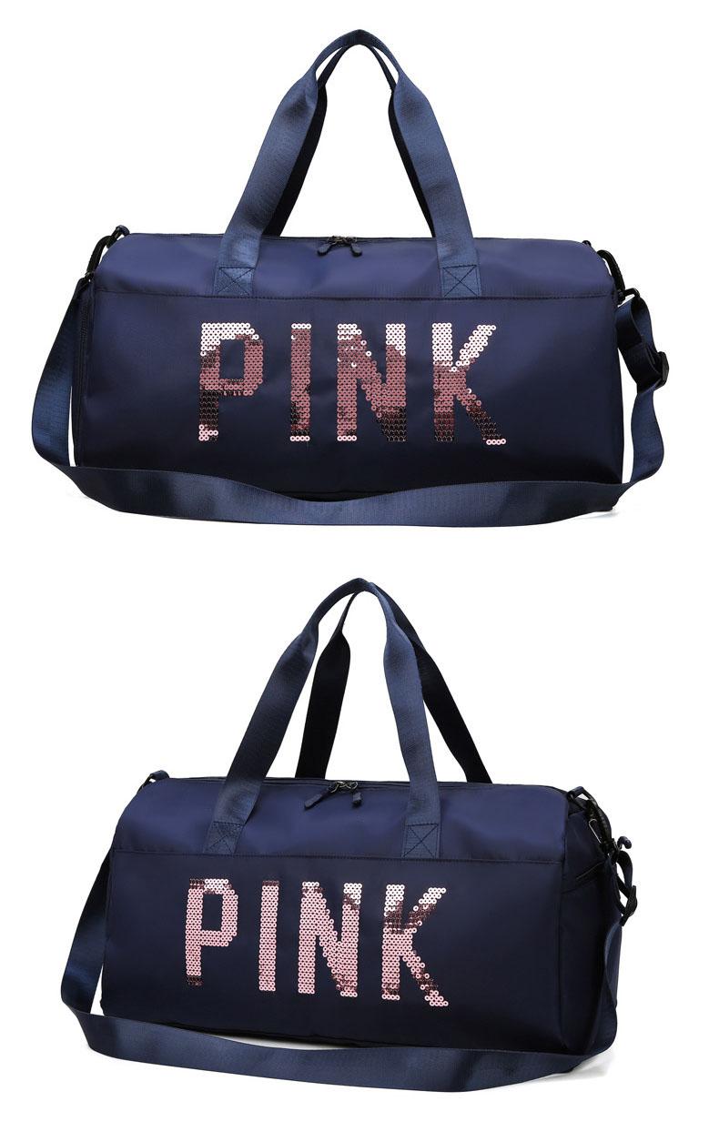 Túi du lịch thể thao thời trang Pink siêu đẹp có ngăn đựng giày cao cấp Shalla (Túi xách du lịch giá sỉ)