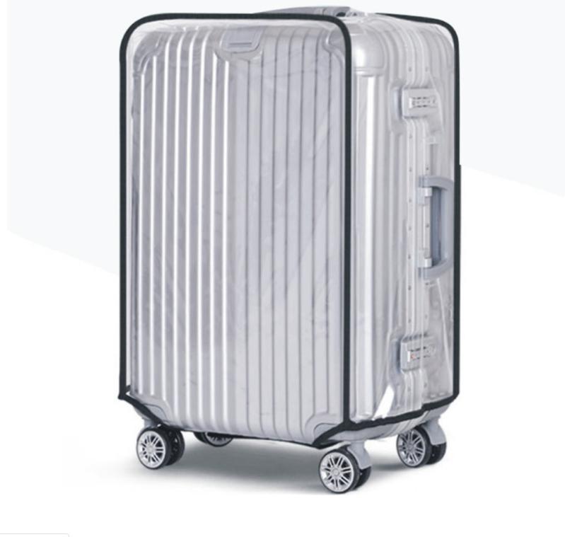 Bao trùm vali nhựa Size 24 inch cao cấp trong suốt Shalla NHS98 (balo trùm nhựa vali giá sỉ)