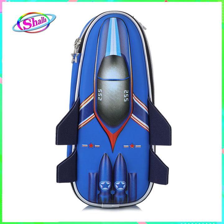 Hộp bút in hình 3D máy bay cao cấp thời trang Shalla (hộp bút in hình 3D chuyên sỉ)