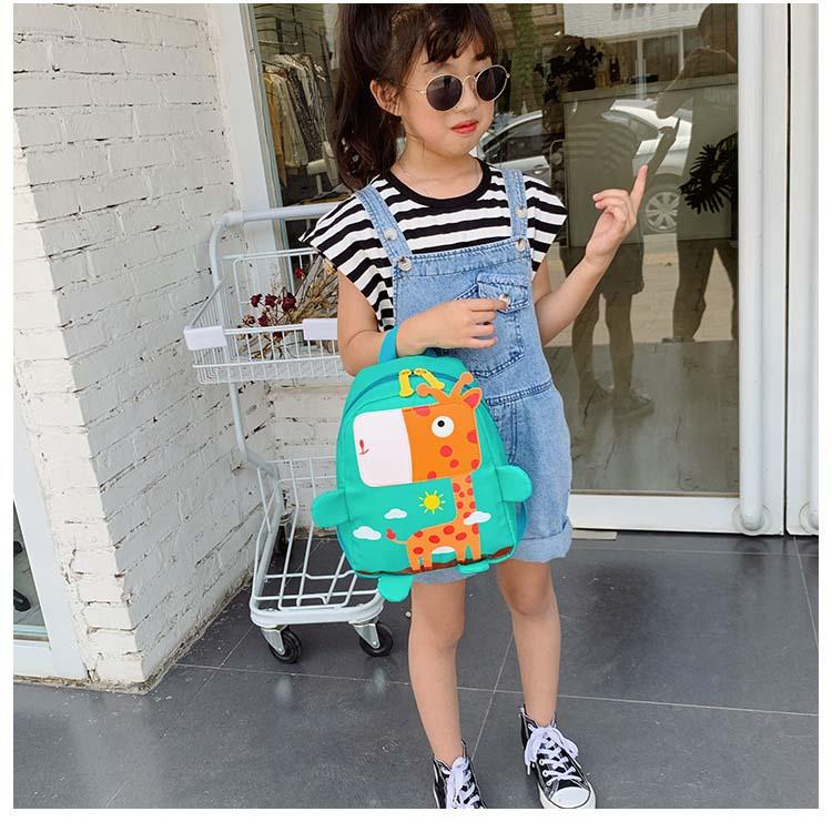 Balo thời trang cho bé trai bé gái Hình Hưu phối màu mini Shalla