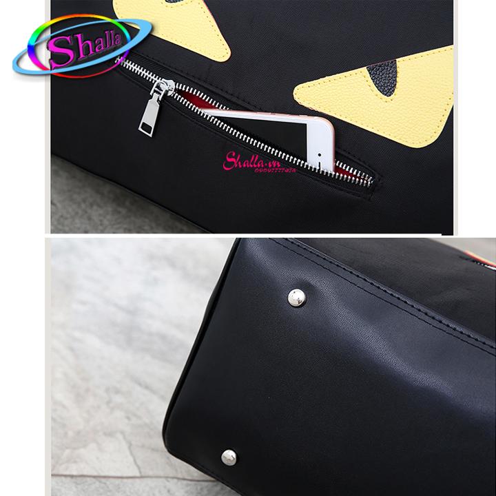 Túi du lịch cần kéo mắt cú Shalla KY2 (túi đu lịch giá sỉ rẻ)
