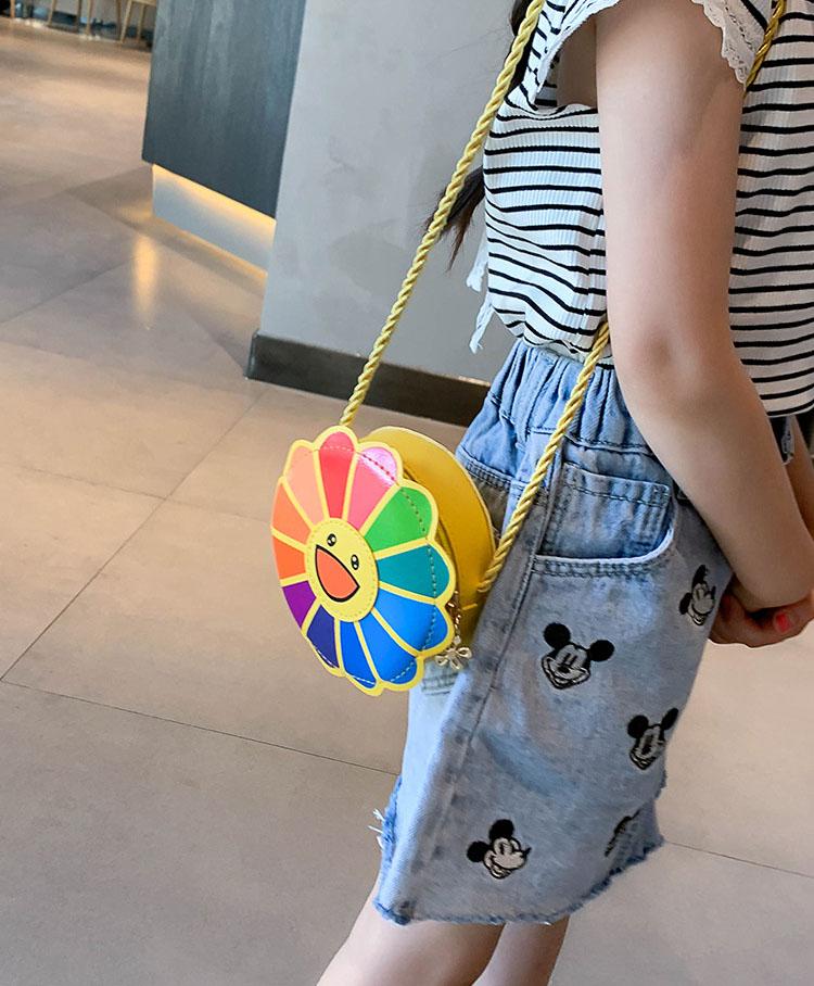 Túi đeo chéo cho bé và người lớn Hoa Daisy nhiều màu LHT22 Shalla