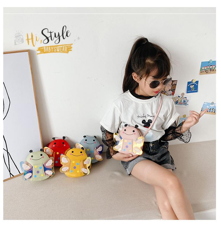 Túi đeo chéo cho bé Hình Ong chấm bi LT4 Shalla