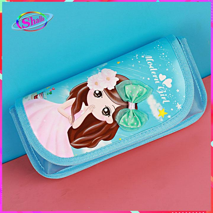Hộp bút 3D hình công chúa rừng xanh dễ thương cao cấp Shalla(Hộp cút 3d hình công chúa giá sỉ)