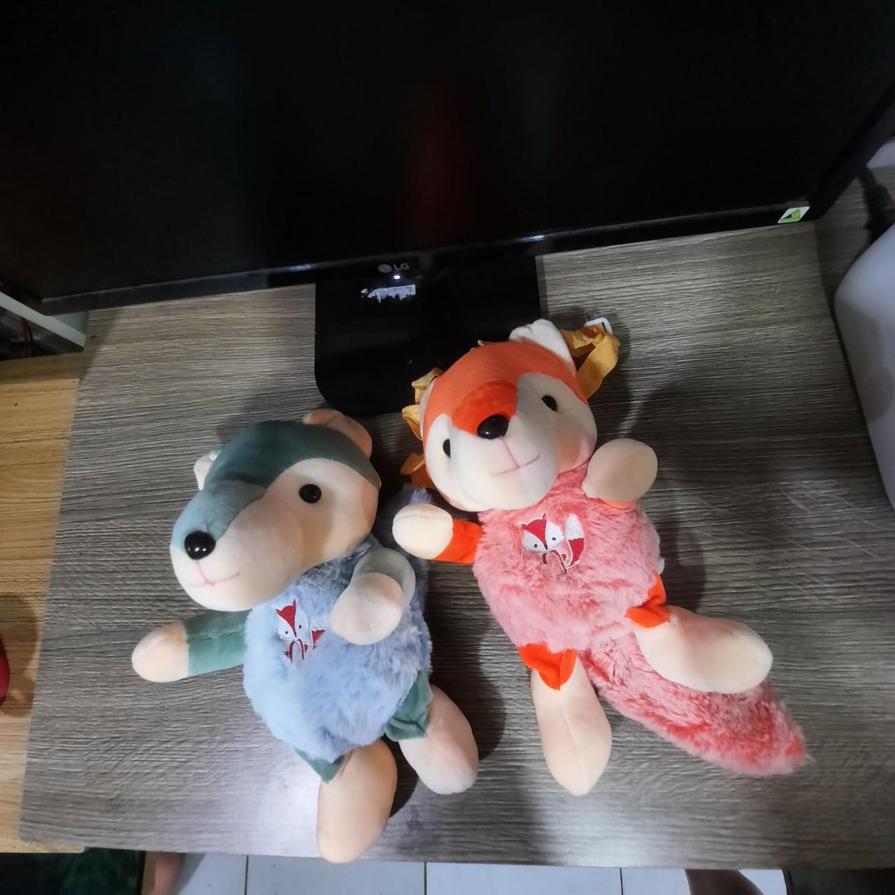 Túi đeo chéo gấu bông bé sóc cho trẻ em thời trang dễ thương SD87 Shalla (túi đeo chéo bé sóc chuyên sỉ)