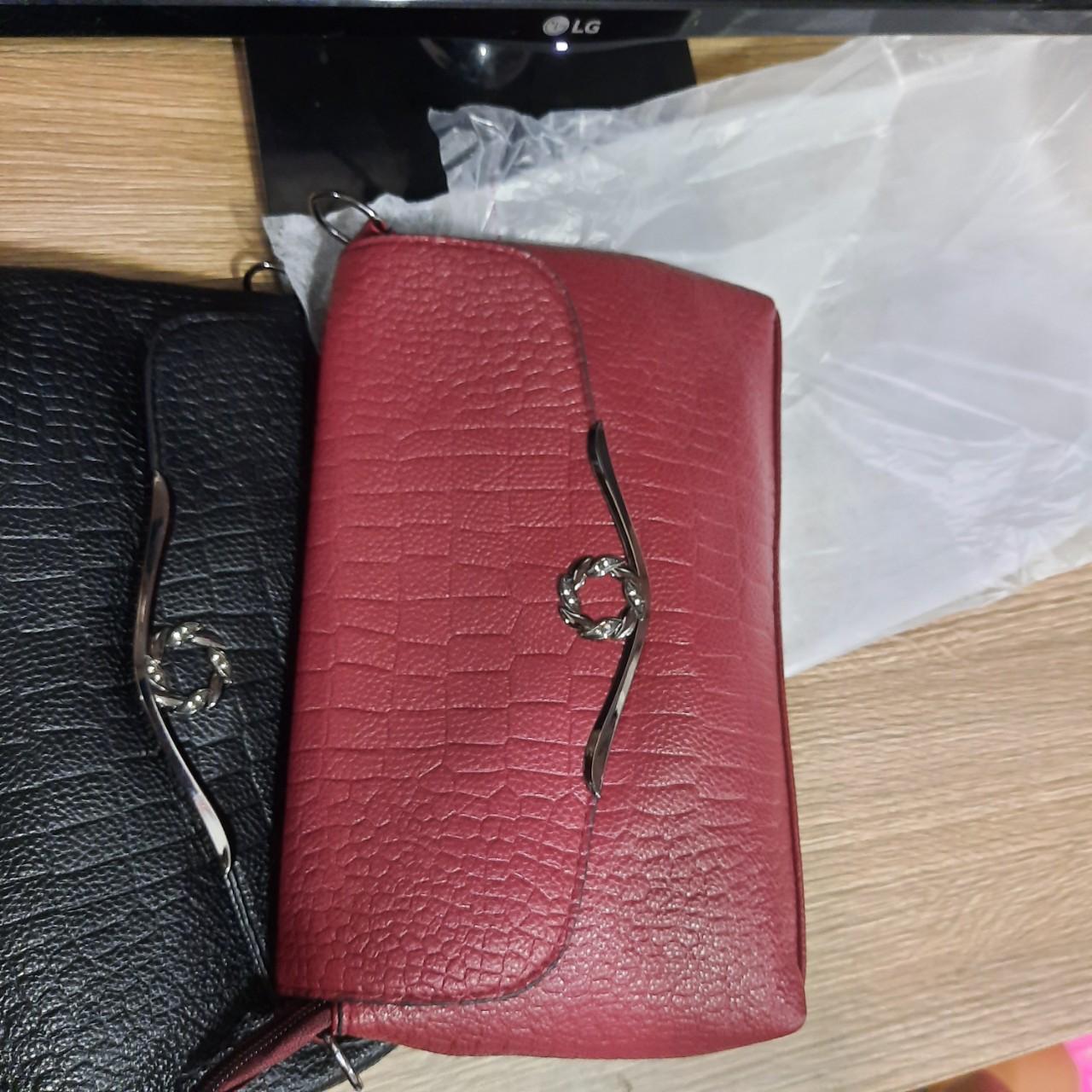 Túi đeo chéo vai da nữ da rạn có nẹp cao cấp SK90 Shalla(túi đeo chéo da nữ nguồn sỉ)