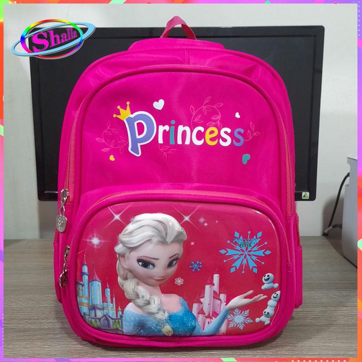 Balo bé gái 3D thời trang hình Anna-sofia cao cấp 869 Shalla (tìm nguồn hàng balo bé gái giá sỉ)