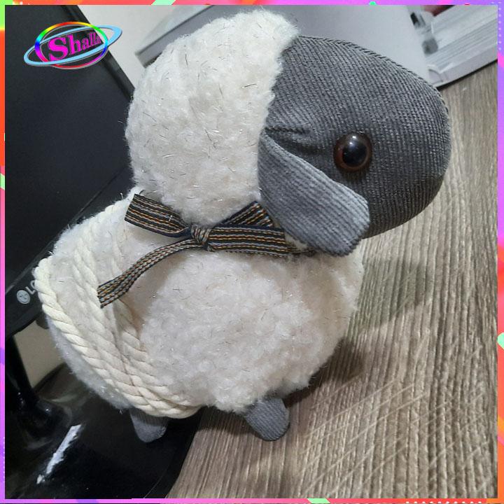 Túi đeo chéo gấu bông hình cừu siêu đẹp cao cấp KNS80 Shalla (túi đeo chéo gấu bông giá sỉ)