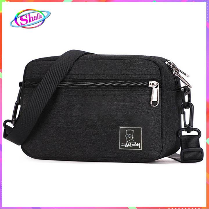 Túi đeo chéo litle ngang nam nữ thời trang cao cấp du lịch KMS2 Shalla ( túi đeo chéo giá sỉ rẻ)