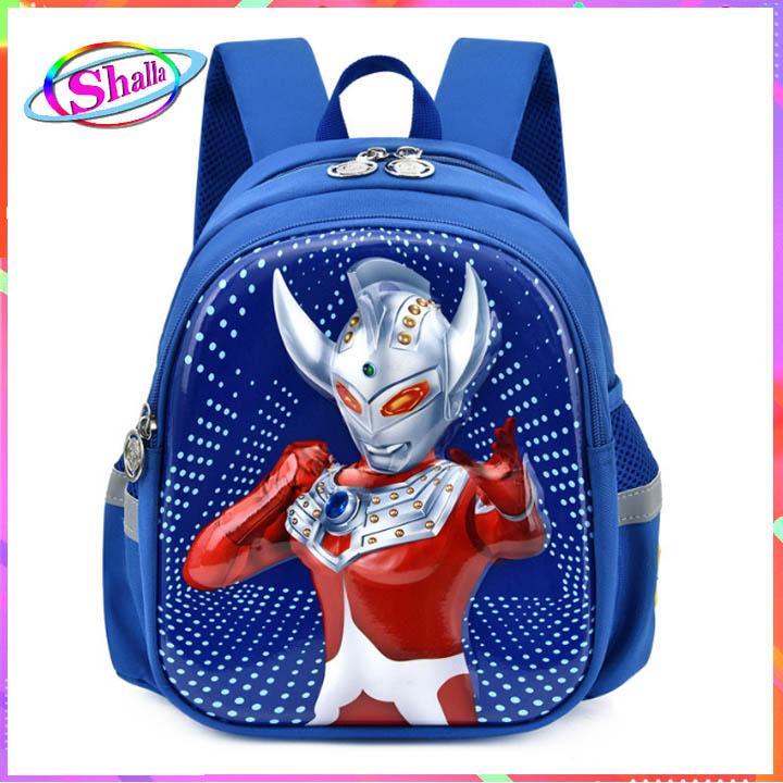 Balo trẻ em Hình siêu nhân Điện quang cao cấp thời trang  M21 Shalla (balo siêu nhân nguồn giá sỉ)
