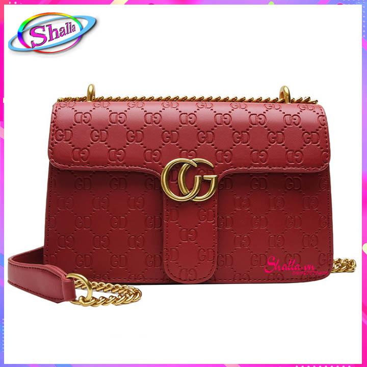 Túi xách thời trang Đầm tiệc xích GC cao cấp FT80 Shalla [túi xách đeo chéo vai giá sỉ] tìm nhà phân phối túi xách