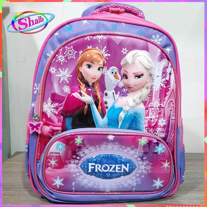 Balo trẻ em thời trang 3D Hình ROZEN cao cấp 1056 KT202 Shalla (balo trẻ em nguồn sỉ)