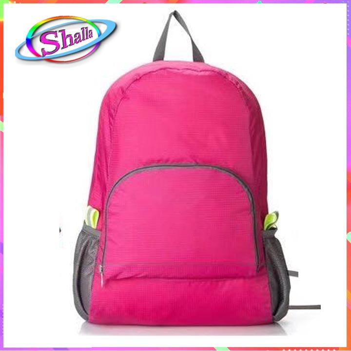 Balo vải Dù du lịch xếp gọn tiện lợi thời trang SH10 Shalla (balo vải dù chuyên sỉ )